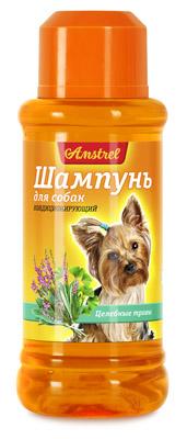 Шампунь Amstrel для собак кондиционирующий с целебными травами