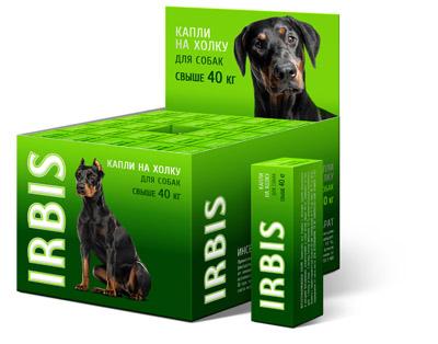 Капли инсектоакарицидные ИРБИС для собак свыше 40 кг