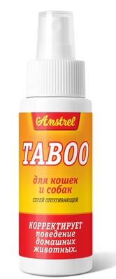 Спрей отпугивающий Amstrel TABOO для кошек и собак