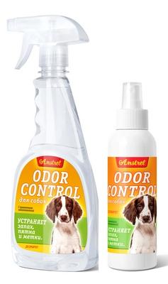 Средство Amstrel  Оdor Control для устранения запахов, пятен и меток для  собак  (десорбирует)