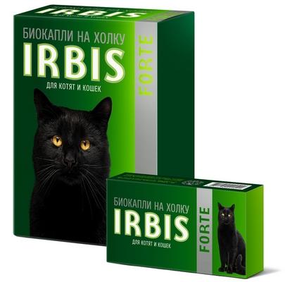 Биокапли на холку IRBIS FORTE для котят и кошек