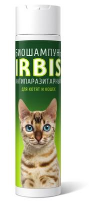 Биошампунь антипаразитарный IRBIS FORTE для котят и кошек/