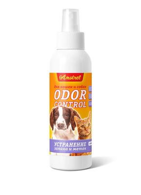 Средство Amstrel  Оdor Control  для устранения запахов и меток для кошек и собак, с ароматом